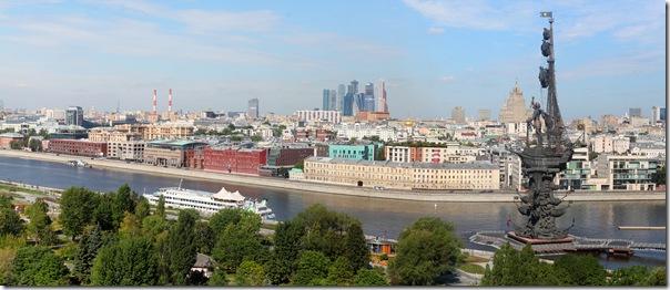 Москва в полдень