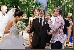 Свадьба Паровозик из Ромашково хлопушки