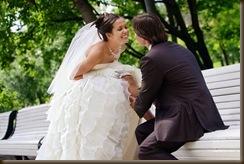 Свадьба Паровозик из Ромашково чулочки