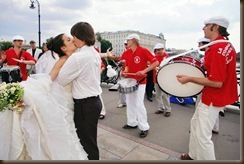 Свадьба Паровозик из Ромашково Биг-Банда