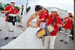 Свадьба Паровозик из Ромашково соло
