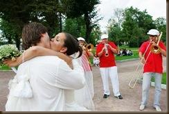 Свадьба Паровозик из Ромашково трубачи