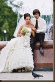 Свадьба Паровозик из Ромашково птичка