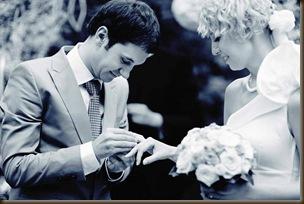 Помощник на свадьбе кольца