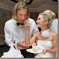 Свадебный стилист торт