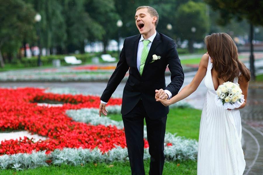 Свадьба и дождь и был дождь на свадьбе