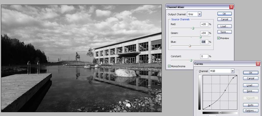 Черно белые фотографии Kodak Infra