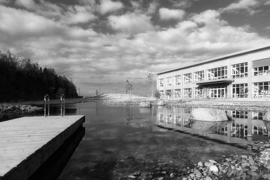 Черно белые фотографии Kodak Infra готово