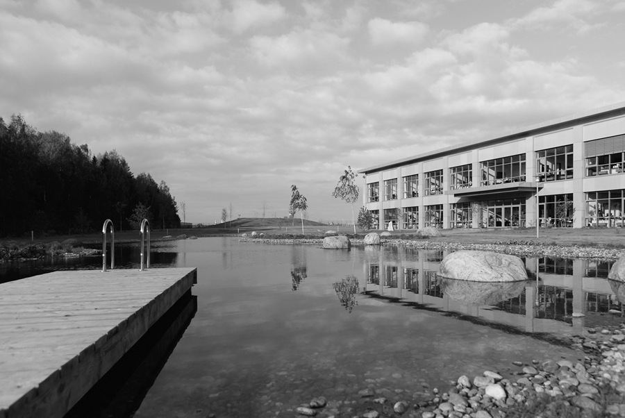 Черно белая фотография через Grayscale