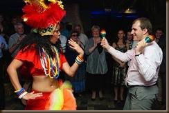 Бразильские танцы и гости