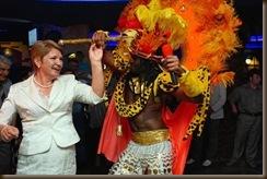 Бразильские танцы вечером