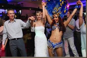 Бразильские танцы для невесты